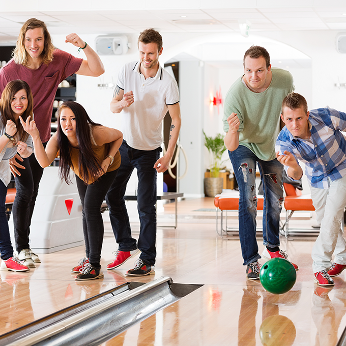 Bowling Alley Family Fun Bam Holland Mi